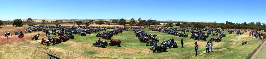 Oval #2, 2012 Toy Run