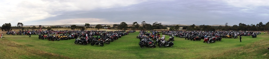 Oval #2, 2013 Toy Run