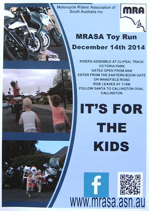 Toy Run Flyer 2014