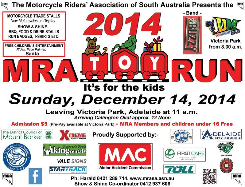 Toy Run Poster